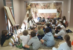 Journée d'intégration 6ème aux Grottes de Gargas